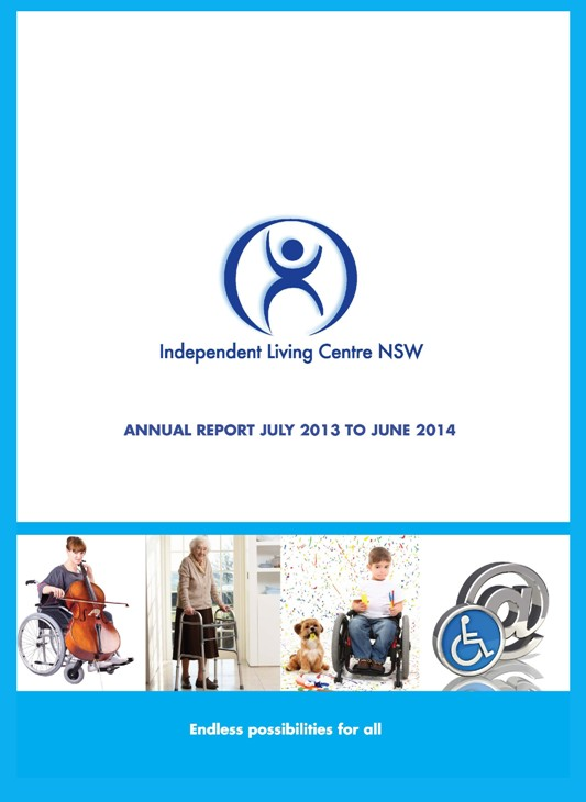 Cover of the 2013-2014 ILC Annual Report