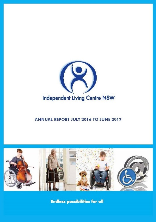 Cover of the 2016-2017 ILC Annual Report