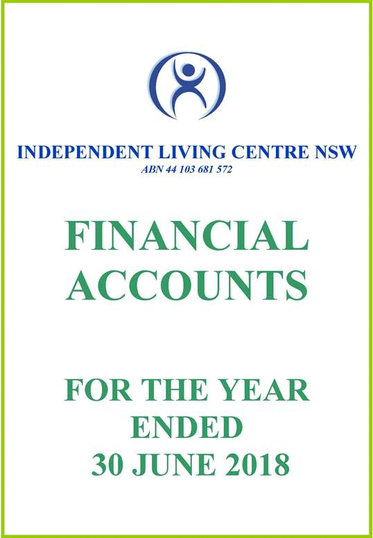 2017-2018 ILC Financial Report