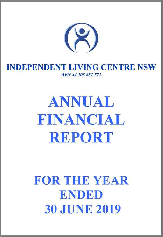 2018-2019 ILC Financial Report