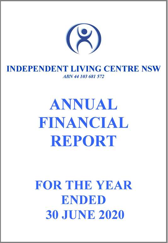 2019-2020 ILC Financial Report